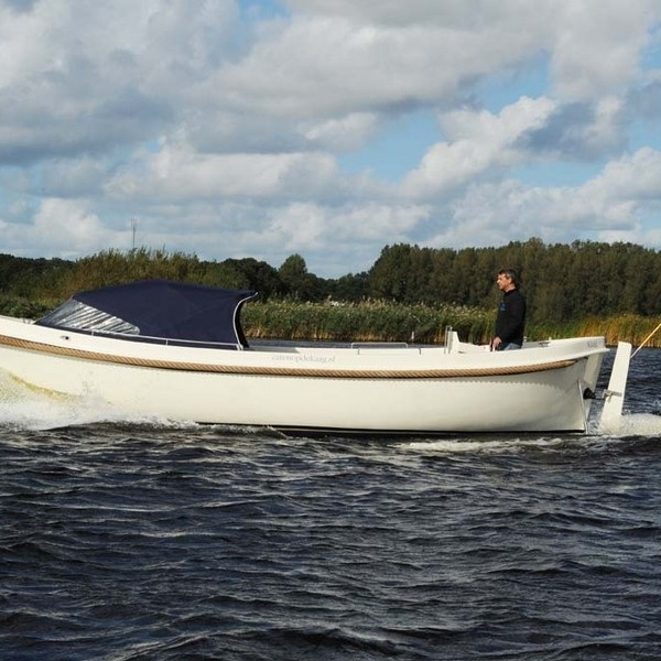 Kaaglifeboat 850 Vermietung Buitenkaag
