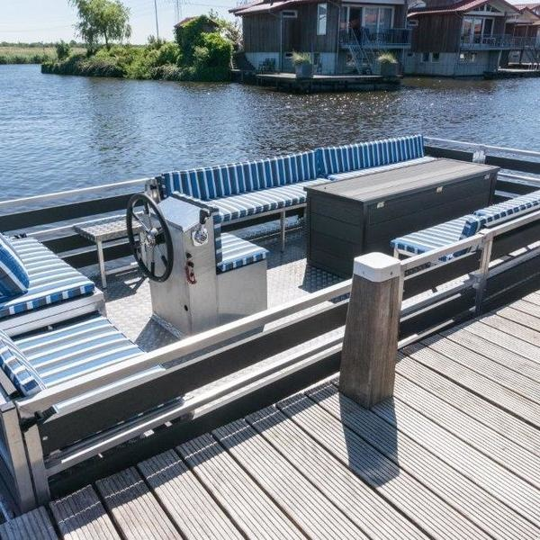 Lounge Terrasboot - Salaho Sand 600 huren Loosdrecht