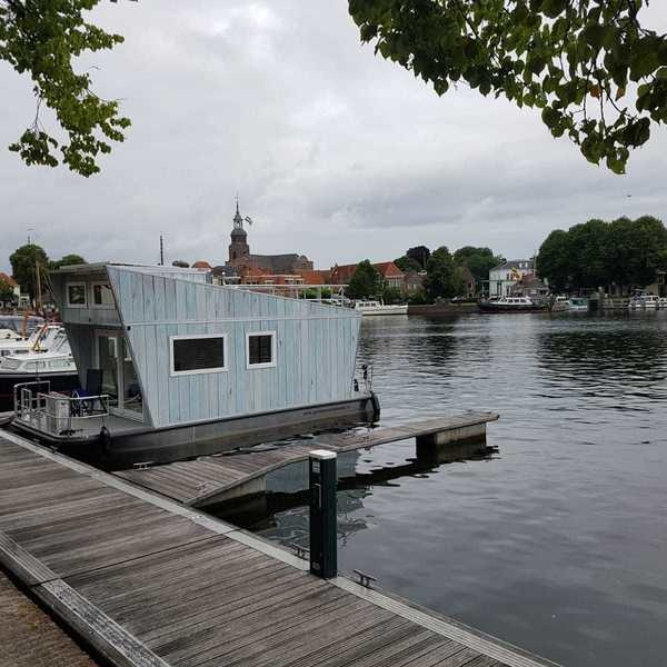 Tiny Houseboat Vermietung Heeg